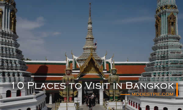 places to visit in Bangkok