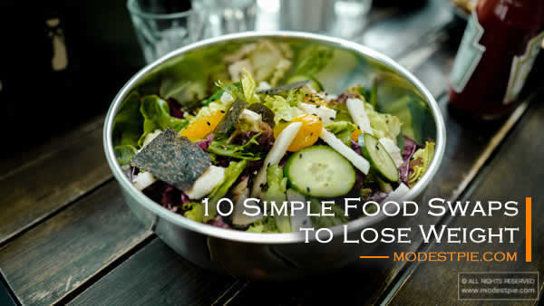 food swaps to lose weight