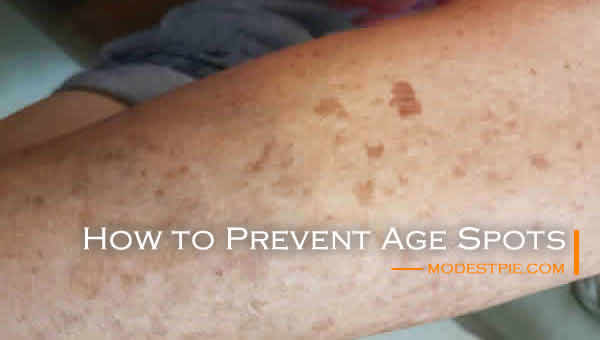 how to prevent liver spots