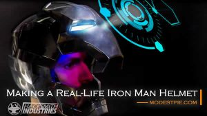 make an iron man helmet
