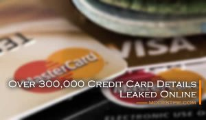credit card details leaked