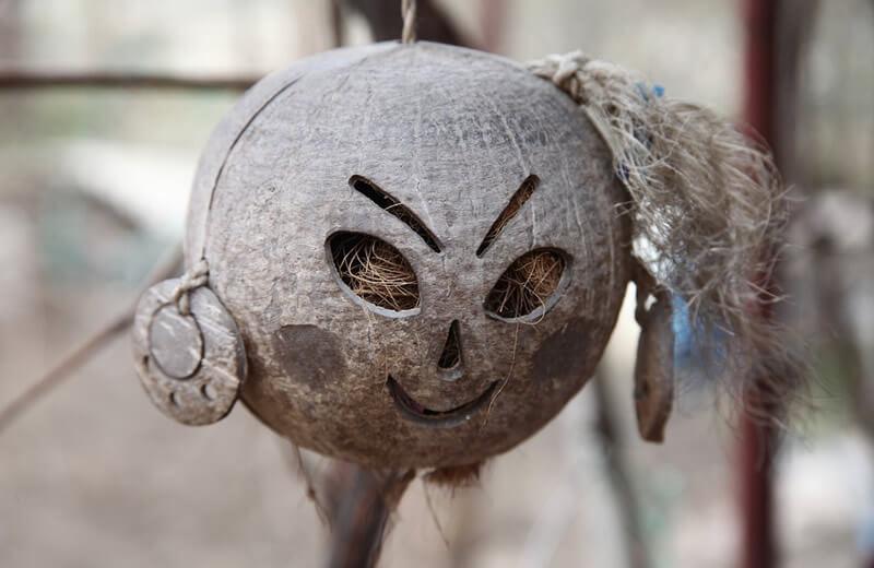 coconut craftwork